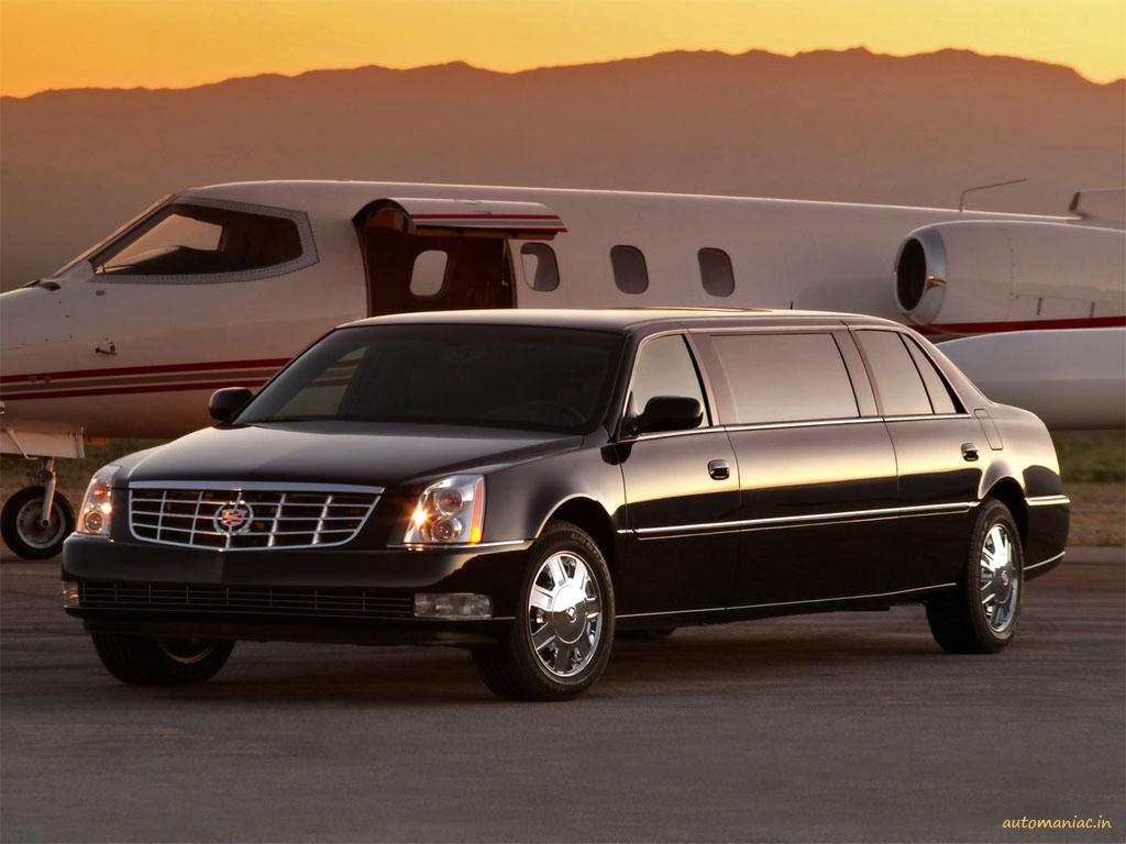 Cadillac DTS  Limousine. X06SV_CA016