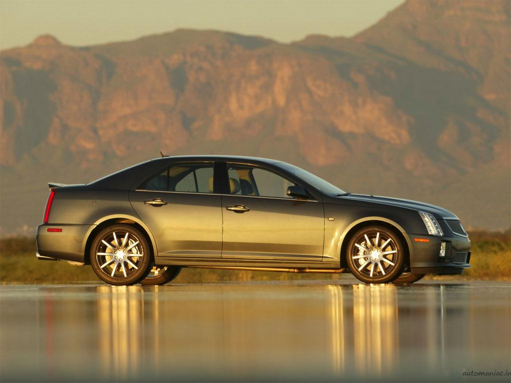 Cadillac STS SAE 100 technology integration vehicle. X05SV_CA010