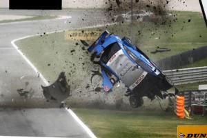 DTM driver survives horror Crash