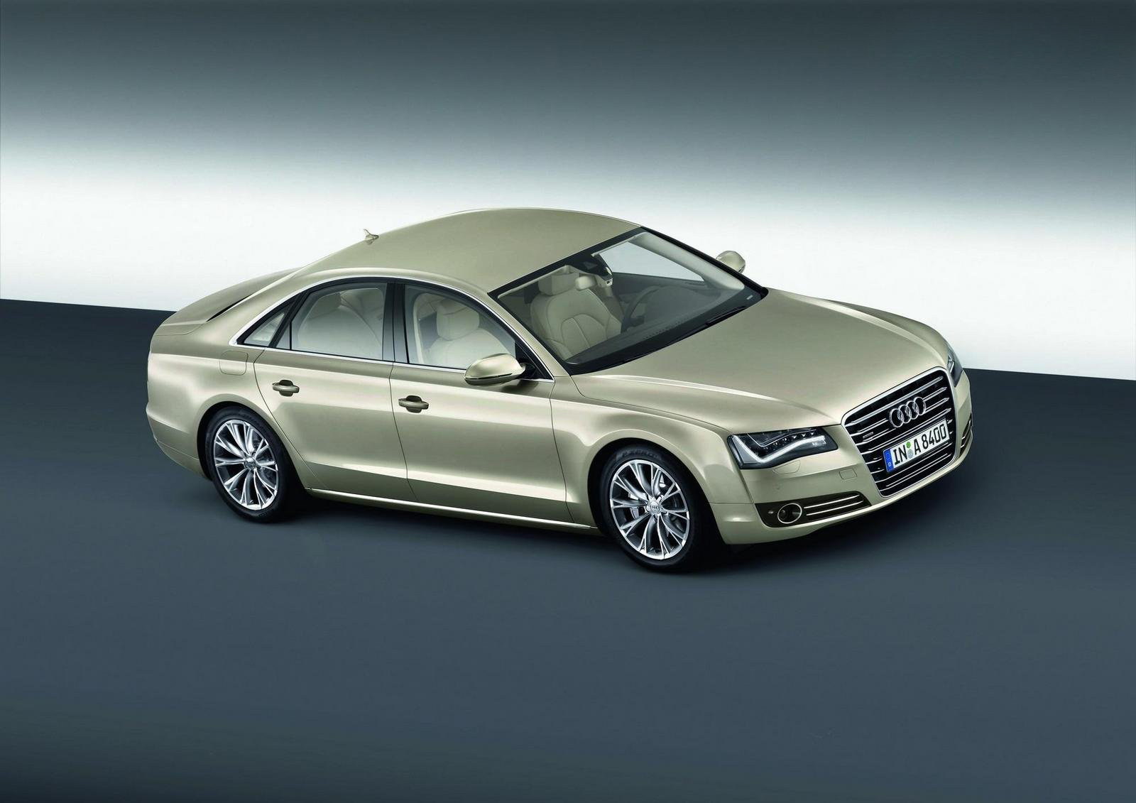 of the Audi A8 hybrid is