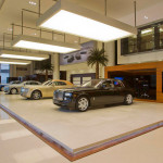 Rolls Royce showroom