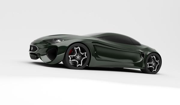 Jaguar XKX concept