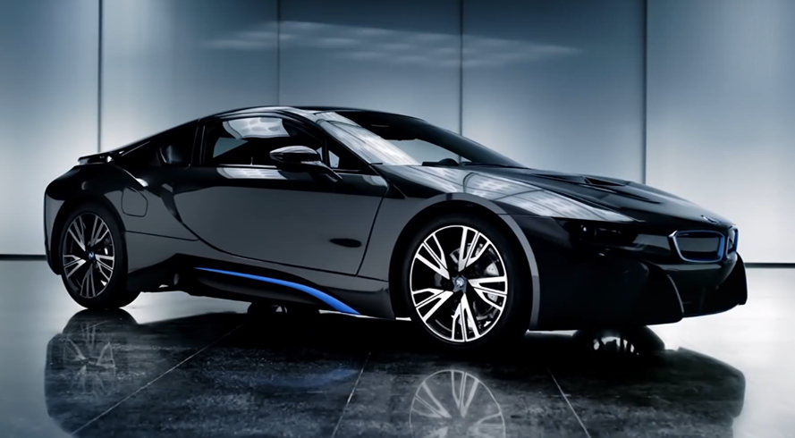 BMW i8 edrive