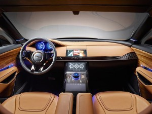 Jaguar F pace interior